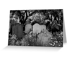 Brompton Cemetery. London, England. 2009 Greeting Card