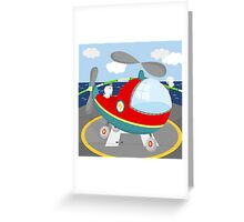 HELICOPTER (AERIAL VEHICLE) Greeting Card
