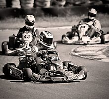 Go-Karting by Amanda-Jane Snelling