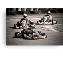 Go-Karting Canvas Print