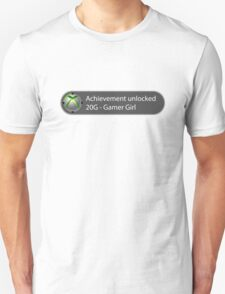 Achievement Unlocked - 20G Gamer Girl T-Shirt