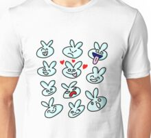 Bad Bunny - Faces Unisex T-Shirt