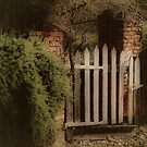 Garden Gate by Barbara  Brown
