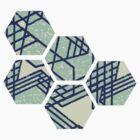 hexagon by Monica McNab