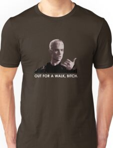 Spike, out for a walk - light font (TSHIRT) T-Shirt