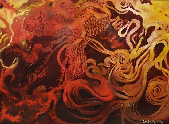 Dragon's Den by Cathy Gilday
