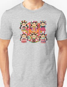 Mexican Dolls Unisex T-Shirt