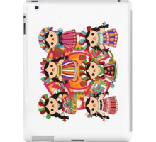 Mexican Dolls iPad Case/Skin