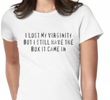 I Lost My Virginity Womens Fitted T-Shirt