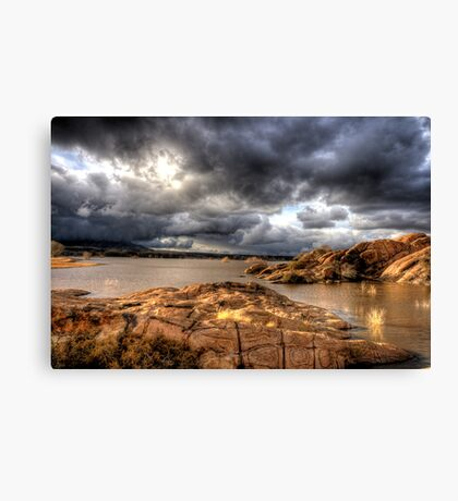 Cloudy with a Chance of Sun Canvas Print