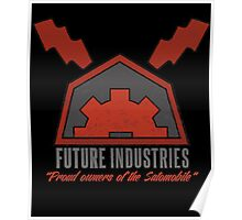 Future Industries Logo Poster