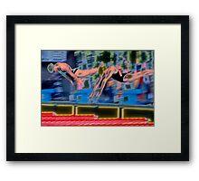"""""""Off the Blocks"""" Framed Print"""