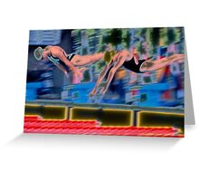 """Off the Blocks"" Greeting Card"