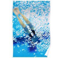 """Synchronized Blur"" Poster"