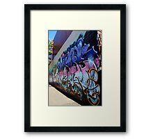 Cafe Grafe (angle) Framed Print