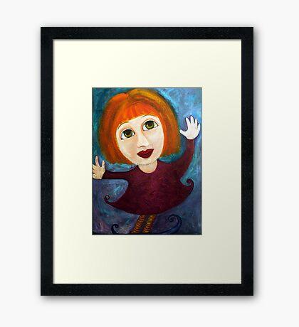 Pixie 2 Framed Print