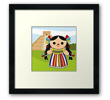Maria 2 (Mexican Doll) Framed Print