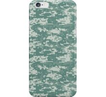 Digital Camouflage Woodland iPhone Case/Skin