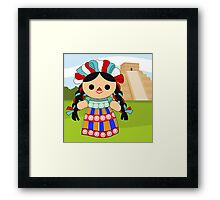 Maria 6 (Mexican Doll) Framed Print