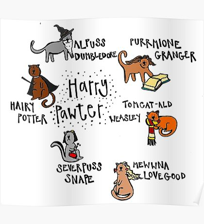 Harry Pawter Poster