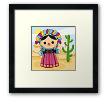Maria 3 (Mexican Doll) Framed Print