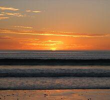 Silver Sands Sunset by Kirsten Mathew
