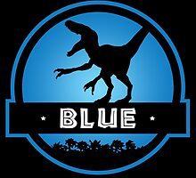 Velociraptor Blue Squad by marslegarde