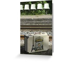 Voyage a Paris Greeting Card