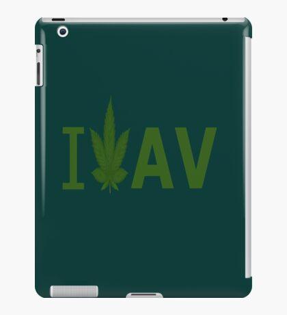I Love AV iPad Case/Skin