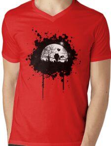 Lonely City Mens V-Neck T-Shirt