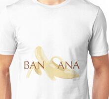 Word Puzzle Series: Banana Split Unisex T-Shirt