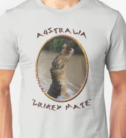 Jumping Croc Australia Unisex T-Shirt
