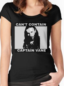 Can't Contain Captain Vane Women's Fitted Scoop T-Shirt