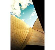 Opera House and stippled sky #2 Photographic Print