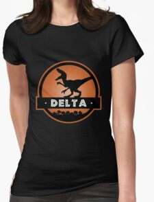 Velociraptor Delta Squad Womens Fitted T-Shirt