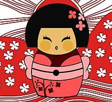 Kokeshi Sakura by alapapaju