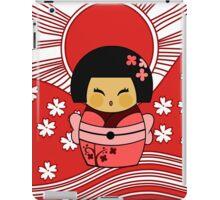 Kokeshi Sakura iPad Case/Skin