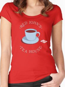 RJ's Tea House Women's Fitted Scoop T-Shirt