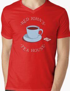 RJ's Tea House Mens V-Neck T-Shirt