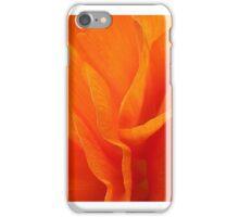 Orange Ranunculus iPhone Case/Skin