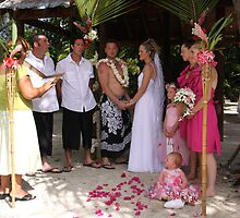 Beautiful Cook Island Wedding  by coffeebean