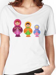 Matrioskas 2 (Russian dolls 2) Women's Relaxed Fit T-Shirt