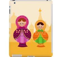 Matrioskas 2 (Russian dolls 2) iPad Case/Skin