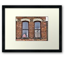 Jacko and Casper Framed Print