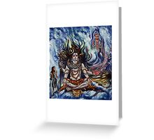 Shiv Ganga Greeting Card