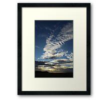 Sunset, North Norfolk Framed Print