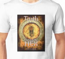 Truth is my Favorite Hex in Gold Unisex T-Shirt