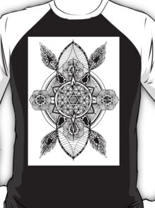 Mandala Shield Protection T-Shirt
