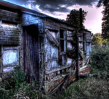 Old Hut by Mark Mair