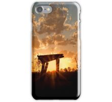 Into the West - Haigslea Qld Australia iPhone Case/Skin